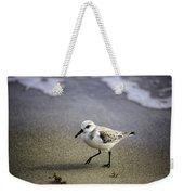 Sanderling On The Shore Weekender Tote Bag