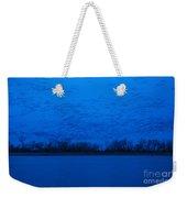 Sandhill Crane Blue Hour Weekender Tote Bag