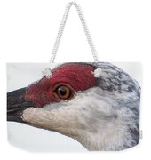Sandhill Crane Eye Weekender Tote Bag