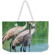 Mom Look What I Caught Weekender Tote Bag