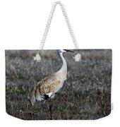 Sandhill Crane Weekender Tote Bag