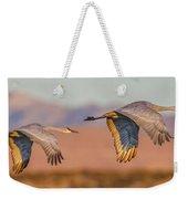 Sandhill Crane Pair Weekender Tote Bag