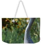 Sandhill Crane Profile Weekender Tote Bag