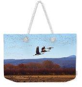 Sandhill Cranes 6 Weekender Tote Bag
