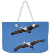 Sandhill In Fromation Weekender Tote Bag