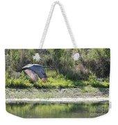 Sandhill Over The Pond Weekender Tote Bag
