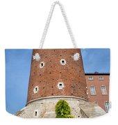 Sandomierska Tower Of Wawel Castle In Krakow Weekender Tote Bag