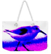 Sandpiper Abstract Weekender Tote Bag