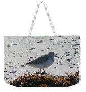Sandpiper And Seaweed Weekender Tote Bag