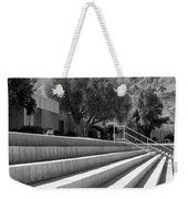 Sandpiper Stairs Bw Palm Desert Weekender Tote Bag