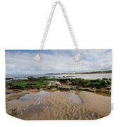 Sands Of Whitley Bay Weekender Tote Bag