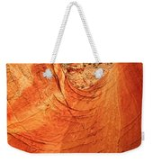 Sandstone Bowl Weekender Tote Bag by Inge Johnsson