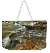 Sandstone Falls Weekender Tote Bag