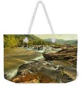 Sandstone Falls Landscape Weekender Tote Bag