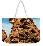 Sandstone Husky Weekender Tote Bag