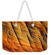 Sandstone Of Time Weekender Tote Bag