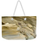 Sandstone Sediment Smoothed And Rounded By Water Weekender Tote Bag