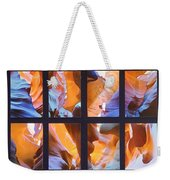 Sandstone Sunsongs Blues Photo Assemblage Weekender Tote Bag