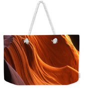 Sandstone Walls Antelope Canyon Arizona Weekender Tote Bag