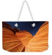 Sandstone Waves Weekender Tote Bag