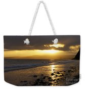 Sandy Bay At Dusk Weekender Tote Bag