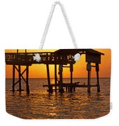 Sandy Bay Sunset Weekender Tote Bag