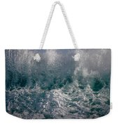 Sandy Beach Backwash Weekender Tote Bag