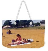 Sandy Beach Weekender Tote Bag
