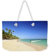 Sandy Beach On Caribbean Resort  Weekender Tote Bag
