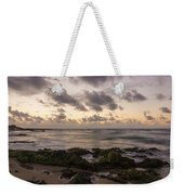 Sandy Beach Sunrise 10 - Oahu Hawaii Weekender Tote Bag