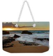 Sandy Beach Sunrise 7 - Oahu Hawaii Weekender Tote Bag