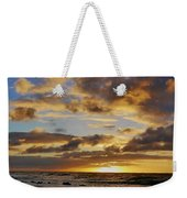 Sandy Beach Sunrise Weekender Tote Bag