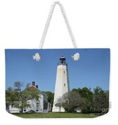 Sandy Hook Lighthouse IIi - N  J Weekender Tote Bag