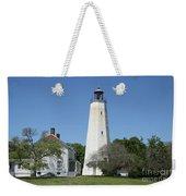 Sandy Hook Lighthouse IIi - N  J Weekender Tote Bag