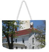 Sandy Hook Lighthouse Iv Weekender Tote Bag