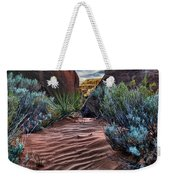 Sandy Trail Arches National Park Weekender Tote Bag