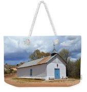 Sangre De Cristo Chapel In Cuartelez In New Mexico Weekender Tote Bag