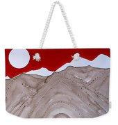 Sangre De Cristo Peaks Original Painting Weekender Tote Bag