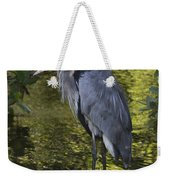 Sanibel Great Blue Heron Weekender Tote Bag