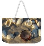 Sanibel Island Shells 5 Weekender Tote Bag