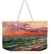 Sanibel Sunset Weekender Tote Bag