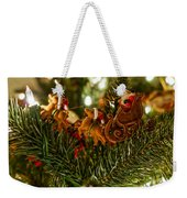Santa And Sleigh Weekender Tote Bag