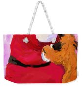 Santa Baby Weekender Tote Bag