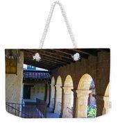 Santa Barbara Mission Cloister Weekender Tote Bag