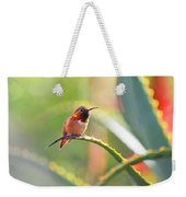 Santa Barbara Zoo Hummingbird Weekender Tote Bag