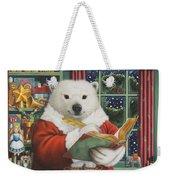 Santa Bear Weekender Tote Bag