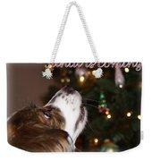Santa - Christmas - Pet Weekender Tote Bag