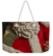 Santa Claus - Antique Ornament - 02 Weekender Tote Bag