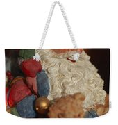 Santa Claus - Antique Ornament - 03 Weekender Tote Bag