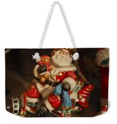 Santa Claus - Antique Ornament -05 Weekender Tote Bag